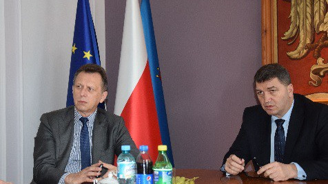 Marszałek Jacek Krupa z wizytą w Oświęcimiu