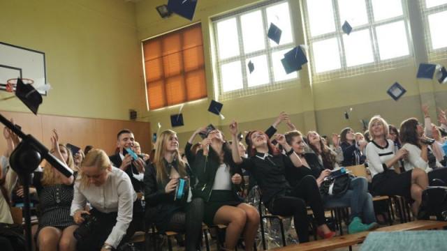 Maturzyści pożegnali rok szkolny