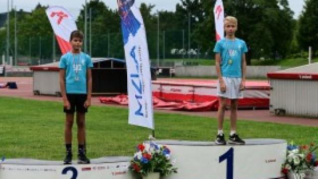 Medale i rekordy lekkoatletów Tempa Kęty