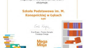 MegaMisja w Łękach dobiega końca, cenne nagrody zostają!