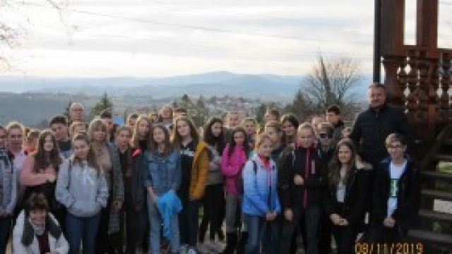 Międzynarodowe spotkanie młodych ekologów Witkowice- Palkovice