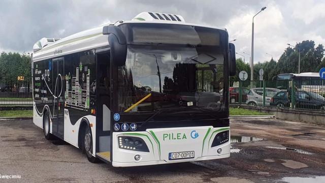 Miejski przewoźnik testuje polski autobus elektryczny