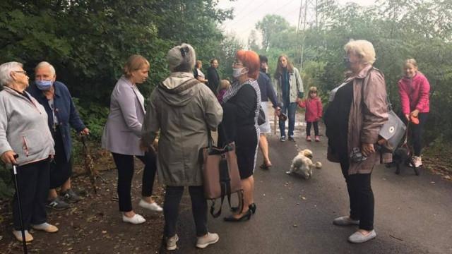 Mieszkańcy Libiąża bronią lasu. Protestują przeciwko planowanej wycince