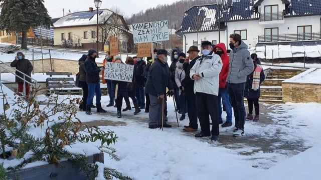Mieszkańcy zablokowali budowę kameniołomu w Skawinkach!