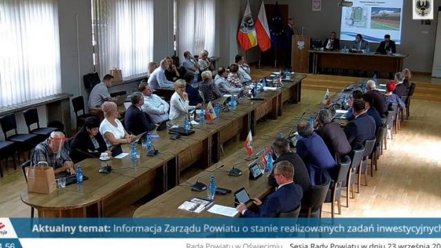 Mimo pandemii koronawirusa Zarząd Powiatu nie ogranicza inwestycji