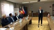 Minister Elżbieta Rafalska z wizytą w Oświęcimiu