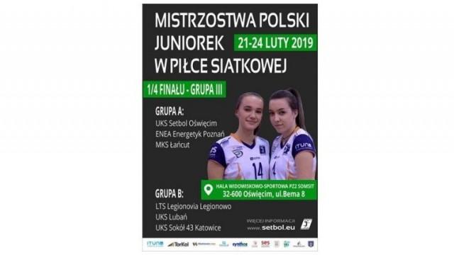 Mistrzostwa Polski Juniorek w Piłce Siatkowej