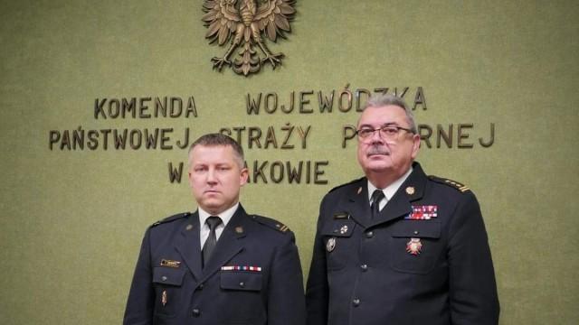 mł.bryg. Ryszard Dudek powołany do pełnienia obowiązków zastępcy Komendanta Powiatowego PSP w Oświęcimiu
