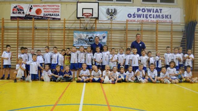 Młodych sportowców odwiedził św. Mikołaj