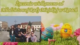 Młodzi radni z wyjątkowymi życzeniami Wielkanocnymi