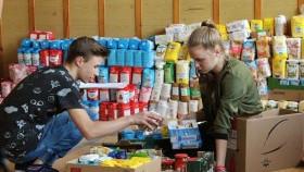 Młodzież z Nowej Wsi podsumowała zbiórkę żywności