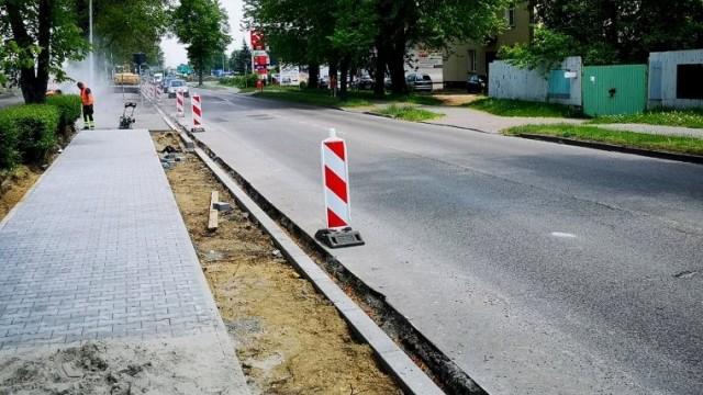 Modernizacja drogi powiatowej ul. Powstańców Śląskich i Kolbego w Oświęcimiu