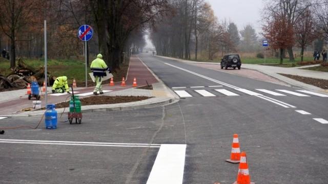 Modernizacja ulicy Olszewskiego na finiszu