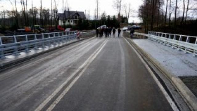 Most na Karpackiej w Witkowicach już gotowy. Ruch zostanie przywrócony po uzyskaniu decyzji o pozwoleniu na użytkowanie obiektu