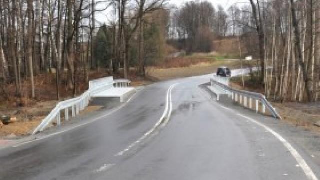 Most na Karpackiej w Witkowicach już przejezdny