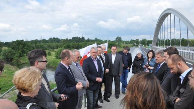 Most w Chełmku oficjalnie otwarty