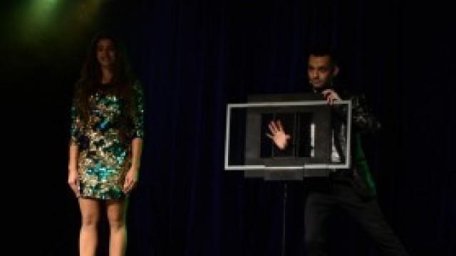 Muzyka i iluzja na deskach sceny kęckiego DK