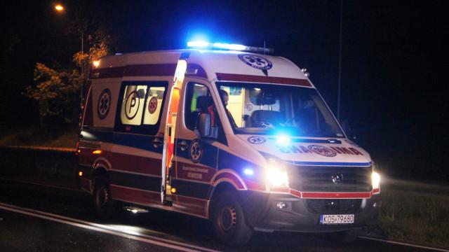 Na początku ZRM następnie radiowóz transportował kobietę na porodówke.