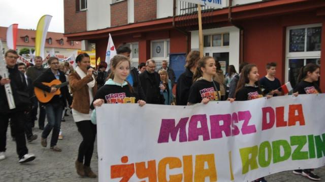 Na trasie Marszu dla Życia i Rodziny