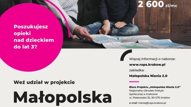 Nabór do projektu Małopolska Niania 2.0 - InfoBrzeszcze.pl