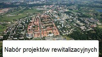 Nabór projektów rewitalizacyjnych do Gminnego Programu Rewitalizacji Miasta Oświęcim