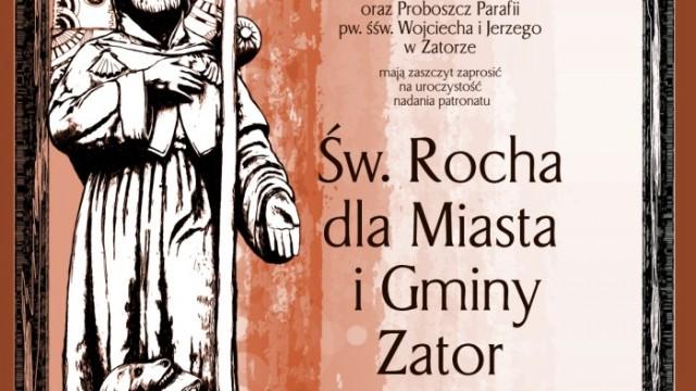 Nadanie patronatu Św. Rocha dla Miasta i Gminy Zator