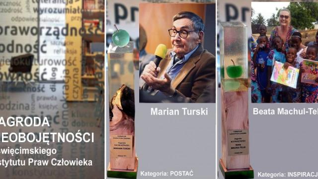 Nagroda Nieobojętności OIPC dla Mariana Turskiego, byłego więźnia Auschwitz
