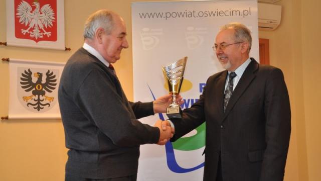 Nagroda Zarządu Powiatu dla złotych medalistek