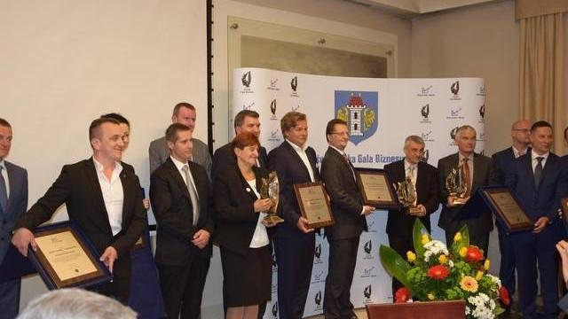 Nagrody i laury dla przedsiębiorców za nowe inwestycje w Oświęcimiu