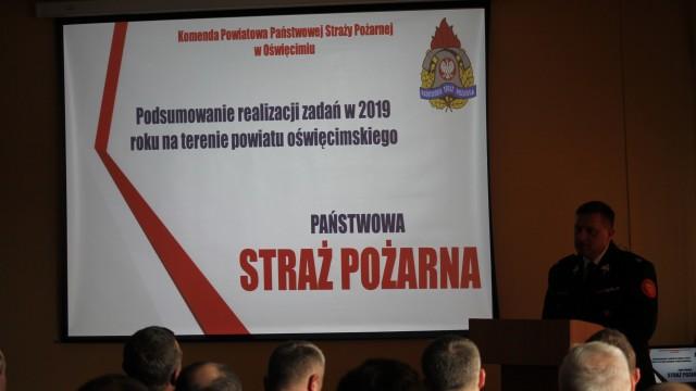 Narada podsumowująca działalność jednostek ochrony przeciwpożarowej w 2019 roku