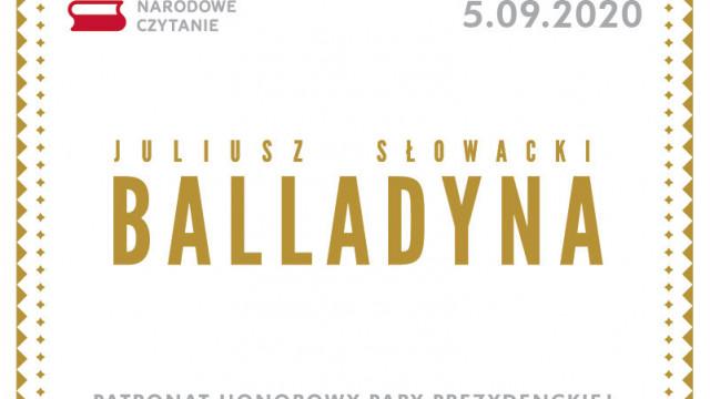 Narodowe Czytanie Balladyny Juliusza Słowackiego - InfoBrzeszcze.pl