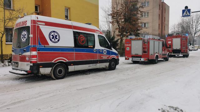 Nastolatek zasłabł w łazience. Na pomoc ruszyły służby ratunkowe