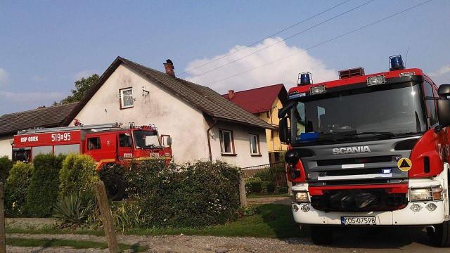Niebezpieczne burze w naszym powiecie. Pioruny uderzyły w dwa budynki mieszkalne ! ZDJĘCIA, FILM !