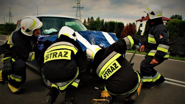Niebezpiecznie na DK44 w Palczowicach. ZDJĘCIA !
