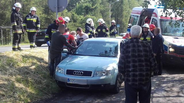 Niebezpiecznie na drogach powiatu. Pięć osób rannych w trzech zdarzeniach drogowych. ZDJĘCIA !