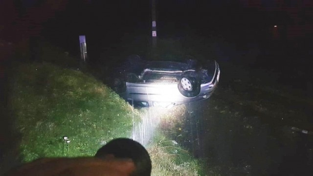 Niebezpiecznie na drogach powiatu.