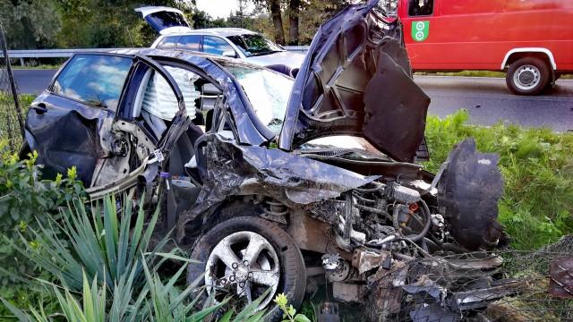 Niebezpieczny wypadek w Polance. Wśród poszkodowanych 11-latka. ZDJĘCIA!