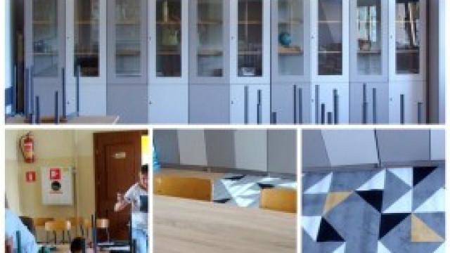 Niecodzienny remont sali lekcyjnej w Szkole Podstawowej w Nowej Wsi