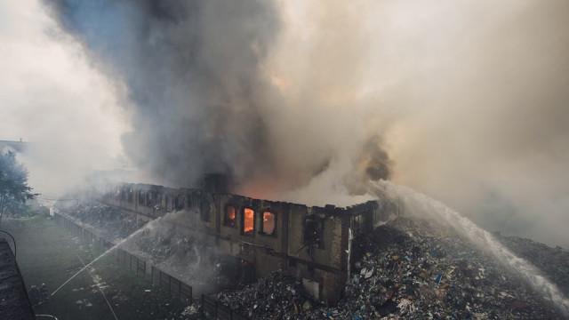 Niespokojna niedziela dla strażaków z JRG Oświęcim. ZDJĘCIA, FILM!