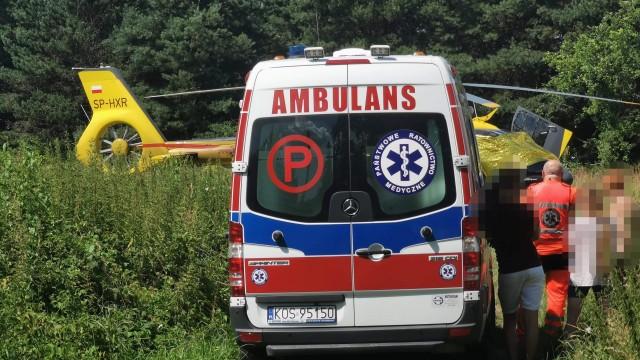 Nieszczęśliwy wypadek w Chełmku. Dziecko zachłysnęło się paliwem – ZDJĘCIA!