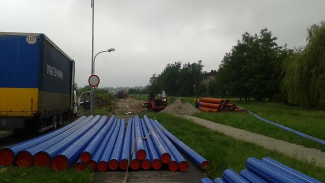 Nowa droga - przedłużenie ul. Batorego będzie gotowa w listopadzie