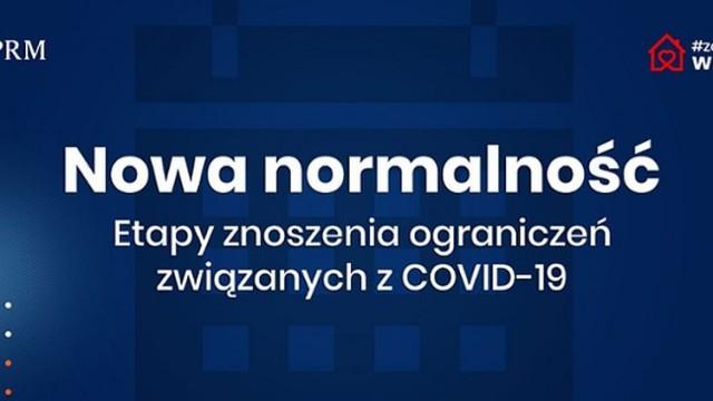 Nowa normalność: etapy znoszenia ograniczeń związanych z COVID-19 - InfoBrzeszcze.pl