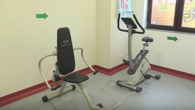 Nowa sala gimnastyczno - rehabilitacyjna w DPS Bulowice [ZOBACZ WIDEO]