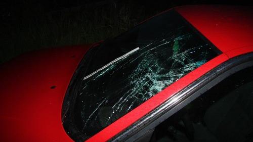 NOWA WIEŚ. Pijany rowerzysta zderzył się z samochodem