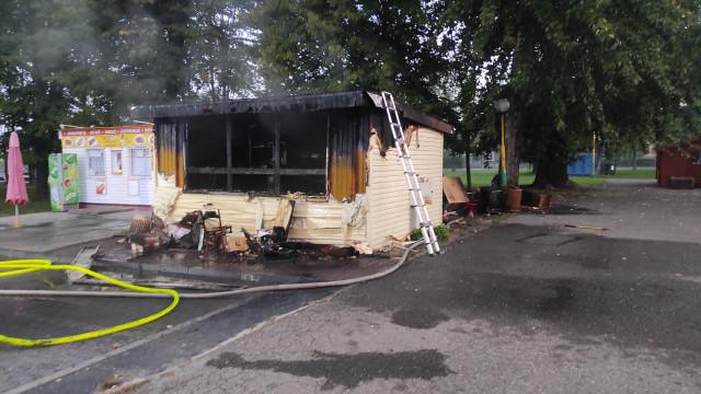 Nowe ustalenia w sprawie pożaru lodziarni w Brzeszczach - InfoBrzeszcze.pl