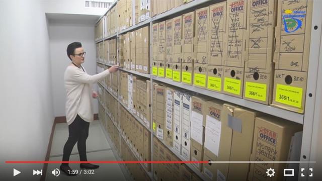 Nowoczesne archiwum w Starostwie (WIDEO)