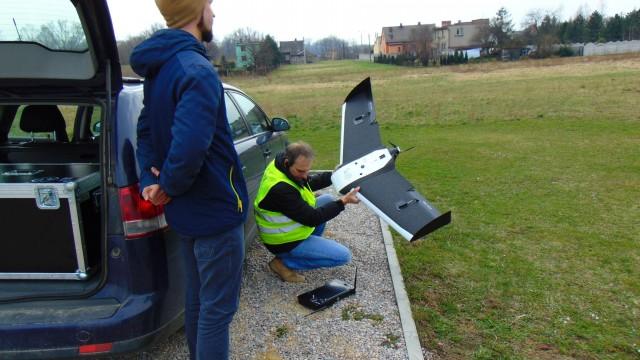 Nowoczesny bezzałogowy samolot wykorzystano w poszukiwaniach zaginionego Marcina Zasadni