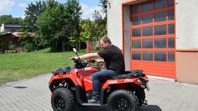 Nowoczesny quad ułatwi prowadzenie akcji ratowniczych