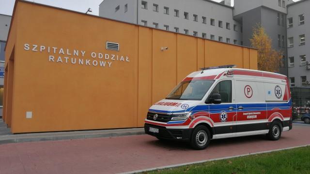 Nowy ambulans trafi do Brzeszcz – ZDJĘCIA!