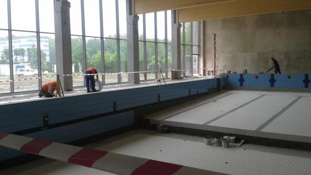 Nowy basen już widać